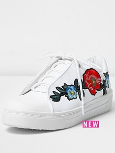 river-island-floral-embroidered-lace-up-trainer