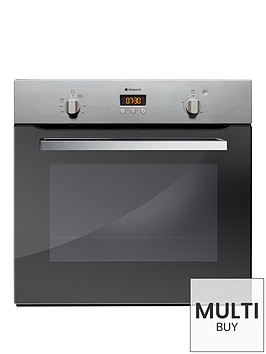 hotpoint-smart-sd53ex-60cm-built-in-single-electric-oven-stainless-steel