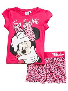 minnie-mouse-t-shirt-and-short-set-pink