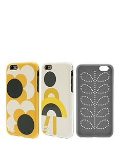 orla-kiely-orla-kiely-two-part-design-fashion-hardshell-duo-phone-case-pack-for-iphone-66s-girl-amp-big-spot-shadow-flower-design