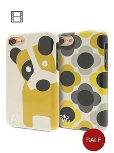 orla-kiely-two-partnbsphardshell-duo-phone-case-pack-for-iphone-7-ditsy-dog-amp-giant-flower-spot-design