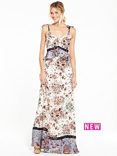 v-by-very-strappy-mixed-print-maxi-dress