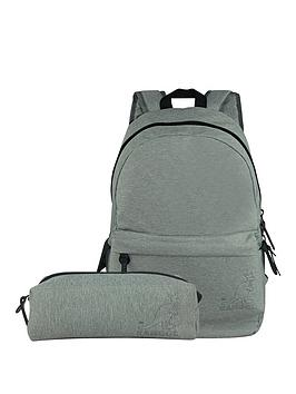 Kangol Backpack And Pencil Case Set