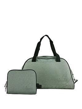 Kangol Holdall And Cosmetic Bag