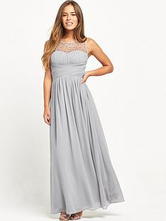 little-mistress-petite-maxi-dress-grey