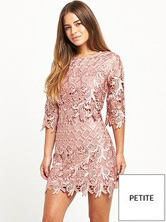 little-mistress-little-mistress-petite-all-over-premium-lace-mini-crochet-pencil-dress