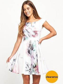 little-mistress-petite-skater-dress-floral-print