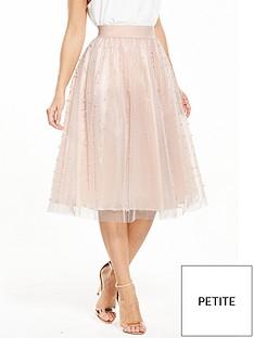 little-mistress-little-mistress-petite-pearl-embellished-mesh-tulle-midi-skirt