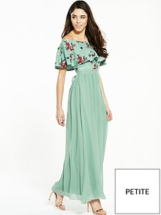 little-mistress-little-mistress-petite-multi-embroidered-bardot-maxi-with-belt
