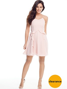 v-by-very-petite-frill-detail-cami-dress-blush