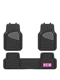 streetwize-accessories-premium-deluxe-black-car-mat-set