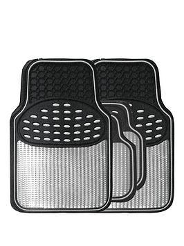 streetwize-accessories-4-piece-heavy-duty-revelation-metallic-style-car-mat
