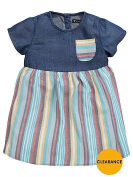mini-v-by-very-toddler-girls-chambray-amp-stripe-dress