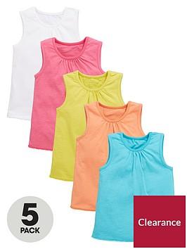 mini-v-by-very-toddler-girls-pom-pom-hem-vest-tops-5-pack