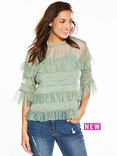 v-by-very-mesh-frill-top