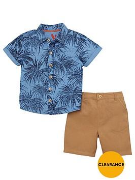 mini-v-by-very-boys-palm-print-shirt-amp-chino-outfit