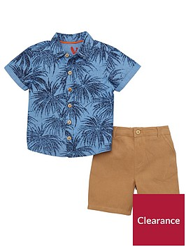 mini-v-by-very-boys-palm-print-shirt-amp-chino-outfit