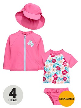 mini-v-by-very-toddler-girls-hawaiian-floral-sunsafe-set-4-piece