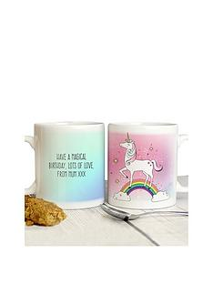personalised-unicorn-mug