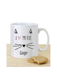 personalised-i-love-my-cat-mug