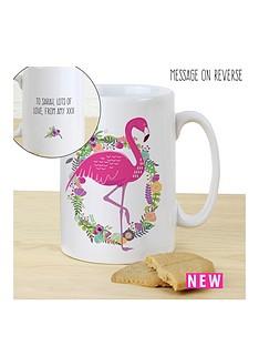 personalised-flamingo-mug