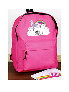 personalised-unicorn-backpack