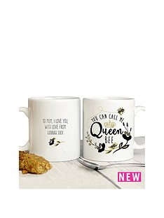 personalised-queen-bee-mug