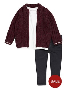 river-island-mini-boys-knitted-bomber-t-shirt-and-jeans-set