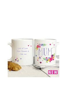 personalised-pastel-florals-mum-mug