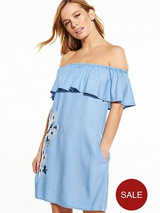 v-by-very-petite-embroidered-bardot-dress