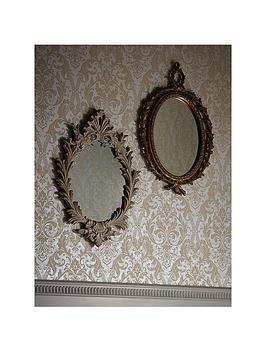 arthouse-vintage-oval-mirror