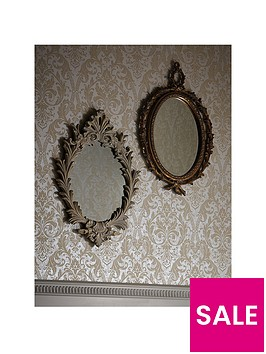 arthouse-vintage-oval-mirror