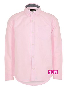 river-island-boys-pink-long-sleeve-oxford-shirt