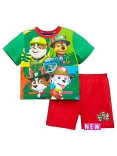 character-paw-patrol-boys-shorty-pyjamas