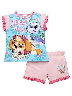 paw-patrol-girls-shorty-pyjamas