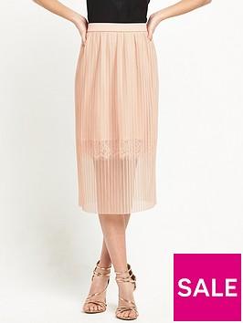 river-island-pleated-lace-trim-midi-skirt-light-pink
