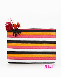 miss-kg-miss-kg-stripe-pouch-bag