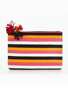 miss-kg-stripe-pouch-bag