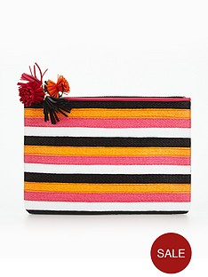 miss-kg-stripe-pouch-bag