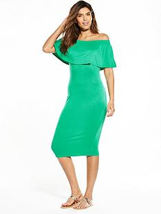 v-by-very-off-the-shoulder-midi-dress