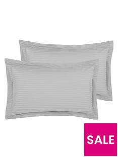 hotel-collection-luxury-300-thread-count-soft-touchnbspsateen-stripe-oxford-pillowcases-pair