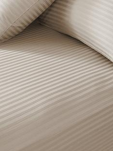hotel-collection-luxury-300-thread-count-soft-touch-sateen-stripe-32-cm-extra-deep-fitted-sheet