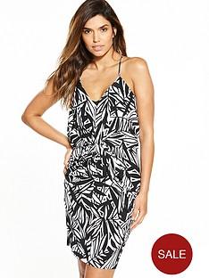 v-by-very-strappy-drape-front-dress