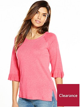 v-by-very-crew-neck-easy-frill-cuff-slouchy-jumper
