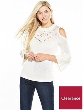 v-by-very-scallop-cold-shoulder-pointelle-jumper