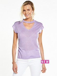 v-by-very-choker-neck-cut-out-jumper