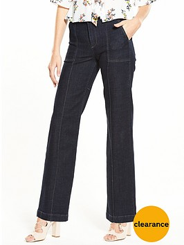 miss-selfridge-straight-leg-pocket-jean