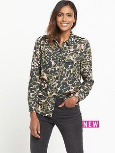 miss-selfridge-camo-pocket-shirt