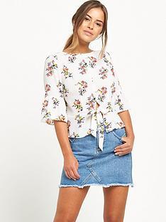 miss-selfridge-petite-blouse-floral-print