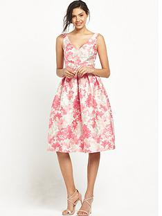 miss-selfridge-jacquard-midi-prom-dress